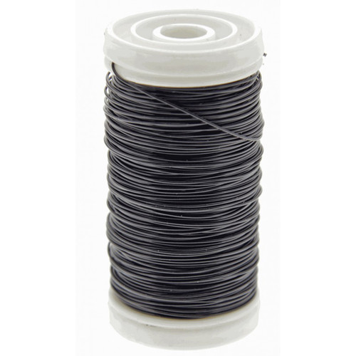 Metallic Wire Reel 100g Black