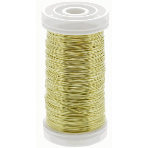 Metallic Wire Reel 100g Gold