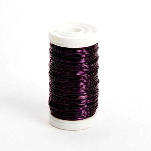 Metallic Wire Reel 100g Lilac Purple