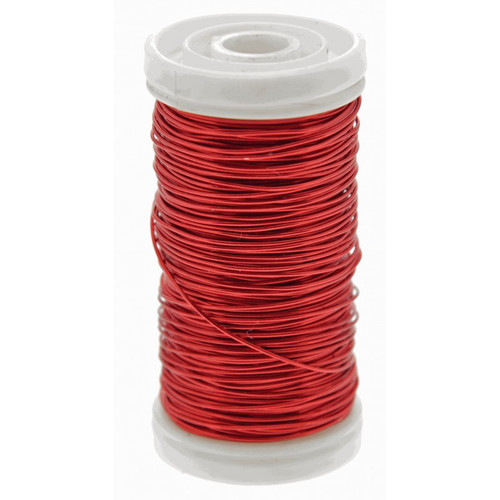 Metallic Wire Reel 100g Red
