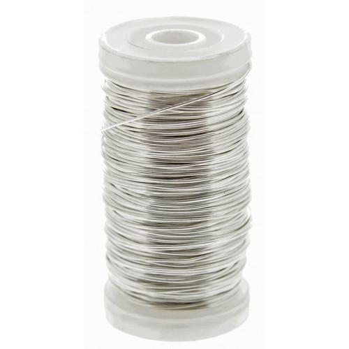 Metallic Wire Reel 100g Silver