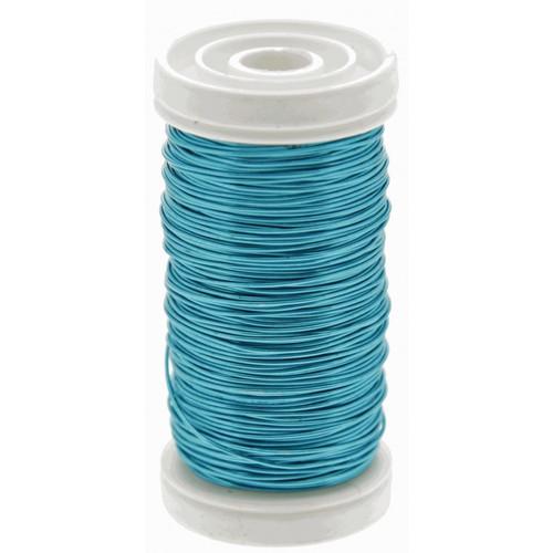 Metallic Wire Reel 100g Turquoise