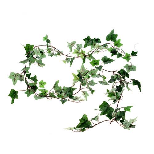 Ivy Garland Small Leaf Dark Green 180cm