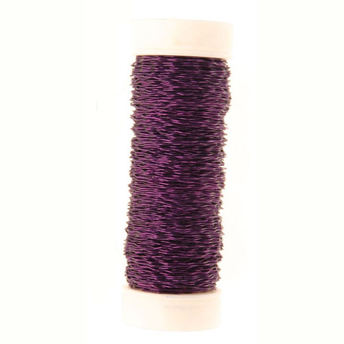 Bullion Wire Reel 25g Lilac Purple