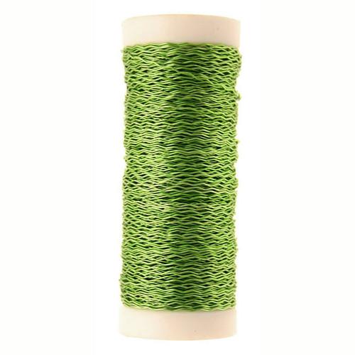 Bullion Wire Reel 25g Lime Green