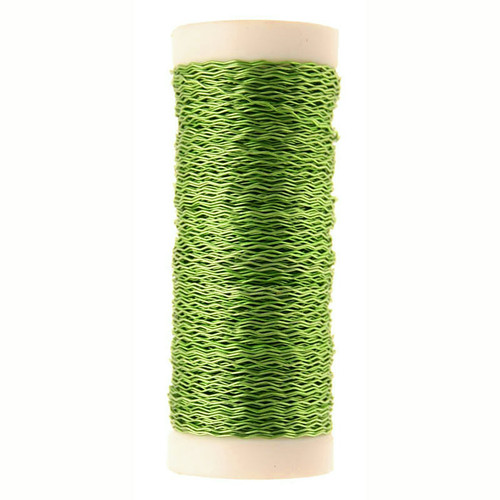 Bullion Wire Reel 25g Lime Green