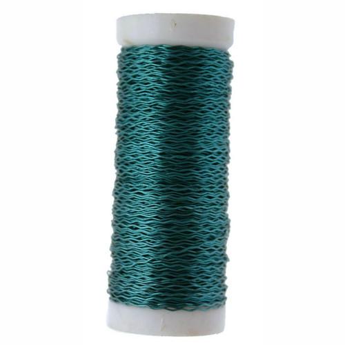 Bullion Wire Reel 25g Turquoise