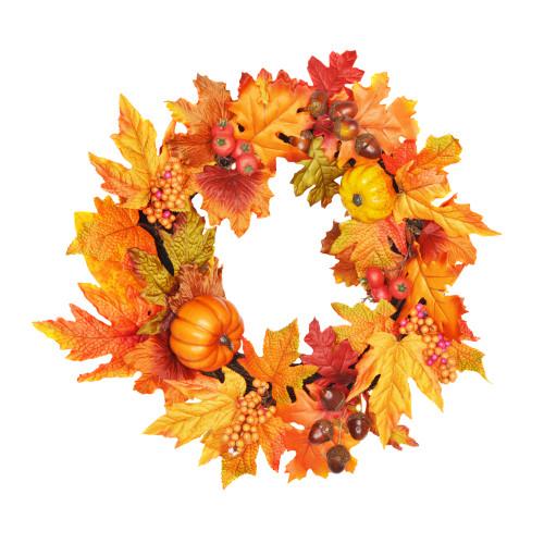 Autumn Wreath 40cm/16 Inch Diameter
