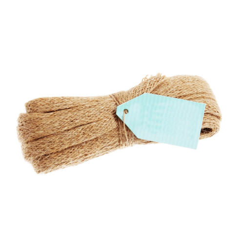 Jute Ribbon Natural 10mm Wide x 8m