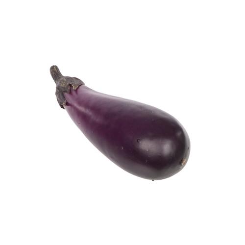 Aubergine Eggplant Purple Fruit 17cm