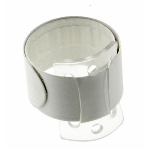 Snap/Wrap Wristlet Corsage Bracelet Ivory 25mm x 2