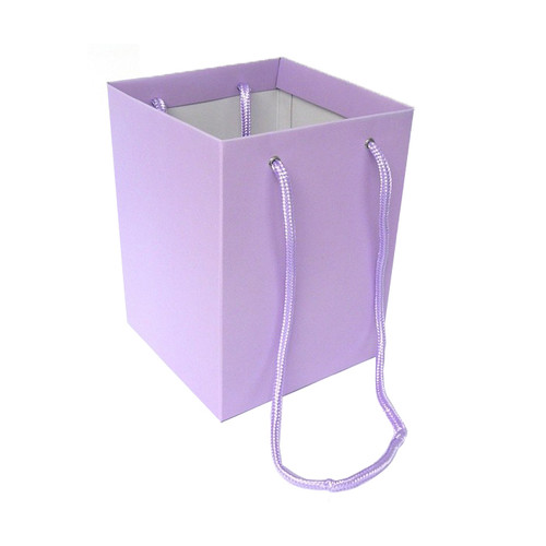 Bouquet Box 18 x 18 x 25cm Pack of 10 Lilac