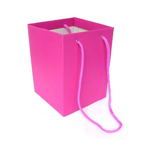 Bouquet Box 18 x 18 x 25cm Pack of 10 Cerise