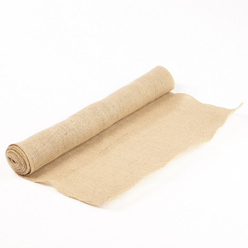 Hessian Fabric Roll 50cm x 3m Natural