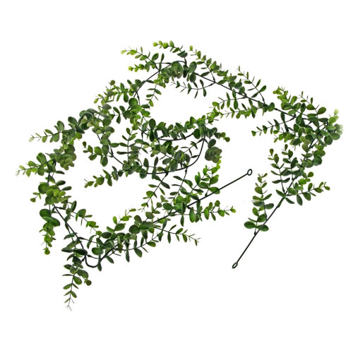 Eucalyptus Garland Green and Grey Artificial 180cm