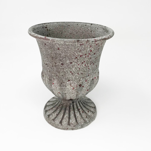 Metal Goblet Urn Narrow Lip 12cm