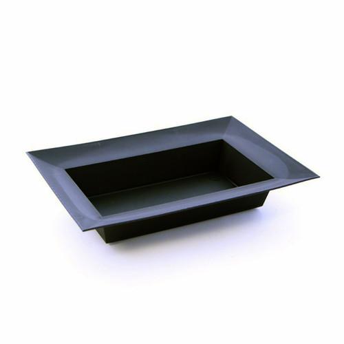 Rectangular Designer Bowl 33.5 x 21.5 x 6.5cm Black