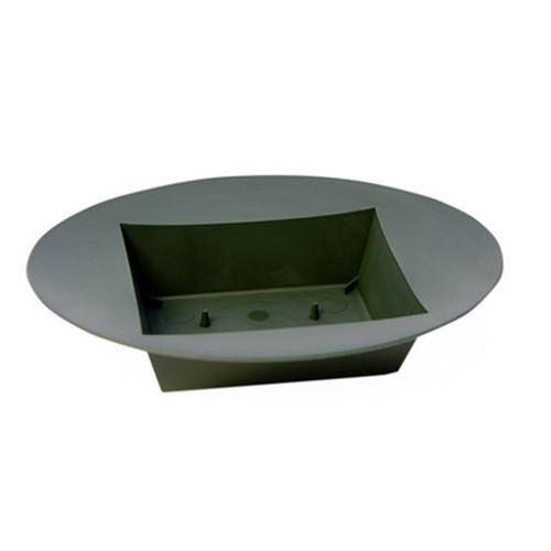 Oval Designer Bowl Green 23 x 18 x 5cm