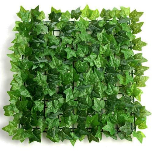 Flower Wall Panel 40cm x 60cm Ivy Leaves Green