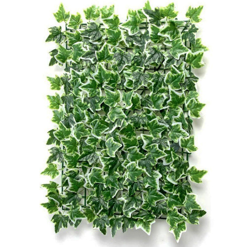 Flower Wall Panel 40cm x 60cm Ivy Leaves Variegated