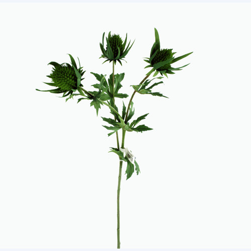Thistle Spray Artificial 66cm Green