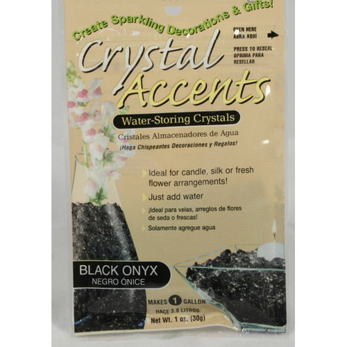 Crystal Accents Black Onyx