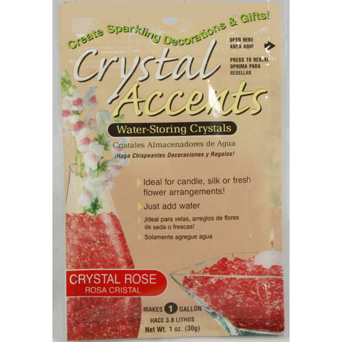 Crystal Accents Crystal Rose / Pink
