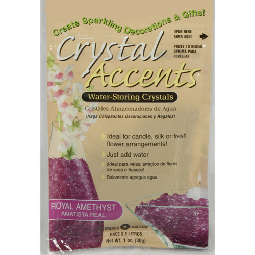 Crystal Accents Royal Amethyst