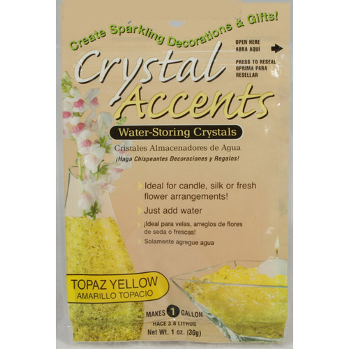 Crystal Accents Crystal Topaz Yellow