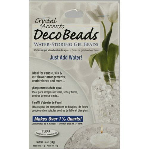 Deco Beads Clear