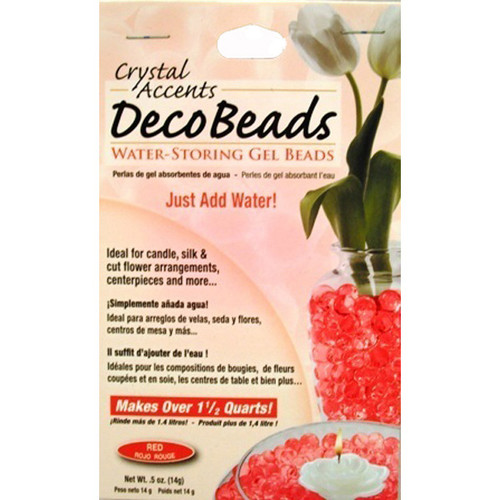 Deco Beads Red