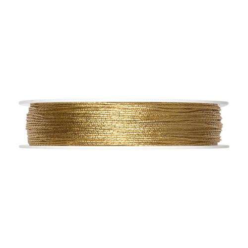 Glitter Cord Gold 1mm Diameter on a 100m Roll