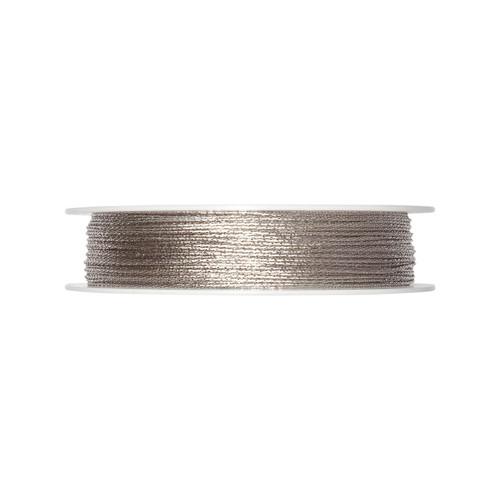 Glitter Cord Silver 1mm Diameter on a 100m Roll