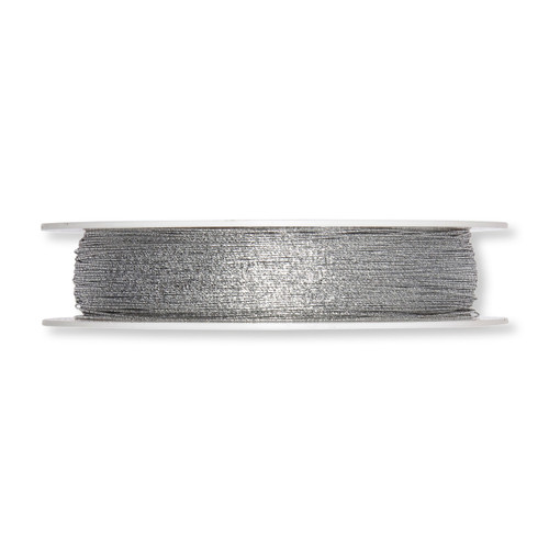 Glitter Wire Silver 1mm Diameter on a 250m Roll
