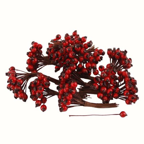Berries Red Rosehip 6mm x 144