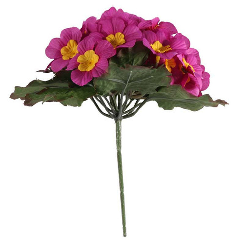 Primula Bush 25 Flowers 21cm/8 Inches Pink