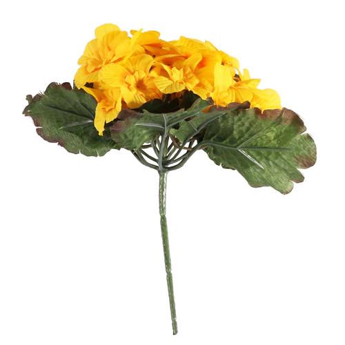 Primula Bush 25 Flowers 21cm/8 Inches Yellow
