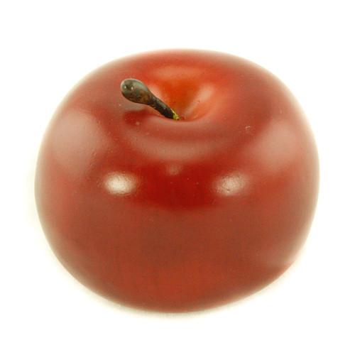 Red Apple Fruit Very Realistic 7cm/3 inch Diameter