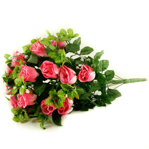Rose Gyp Bunch 24 Stems Roses 55cm Pink