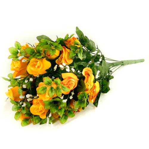 Rose Gyp Bunch 24 Stems Roses 55cm Yellow