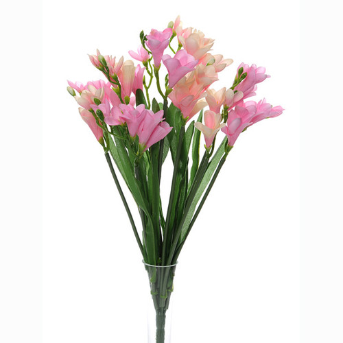 Freesia Bunch Pink 50cm