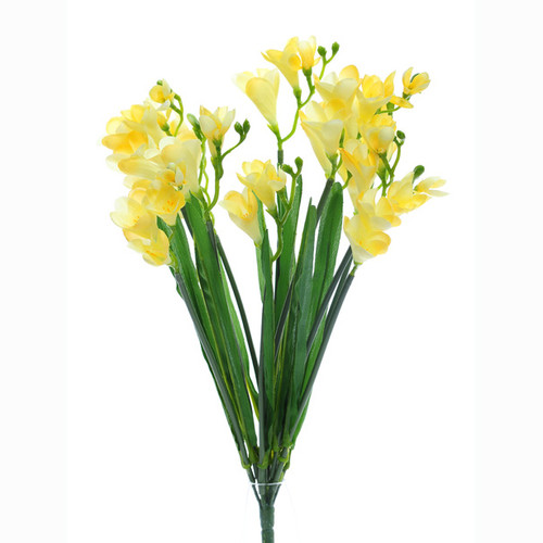 Freesia Bunch Yellow 50cm