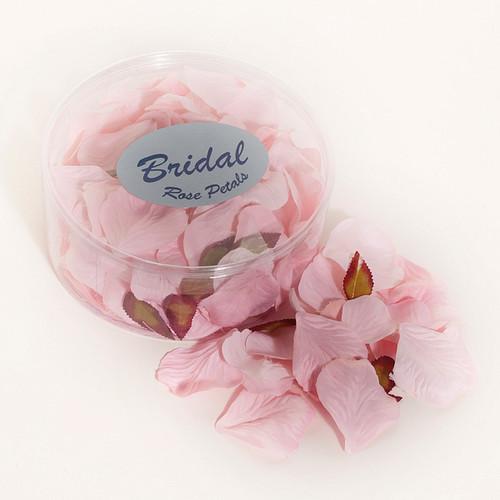 Silk Rose Petals Baby Pink