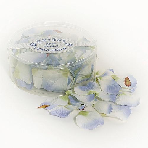 Silk Rose Petals Lavender / Blue