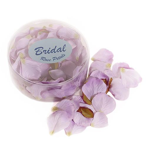 Silk Rose Petals Lilac