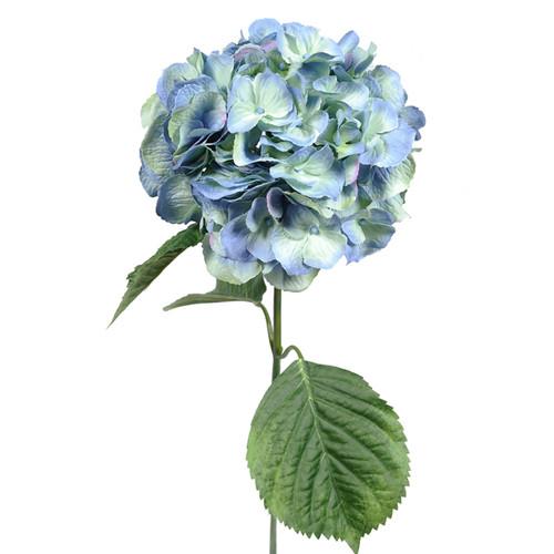 Hydrangea Light Blue 70cm/27.5 Inch Stem