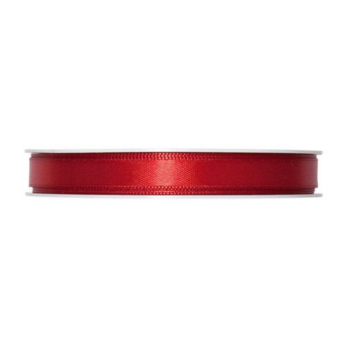 Satin Ribbon 10mm Blood Red x 25m