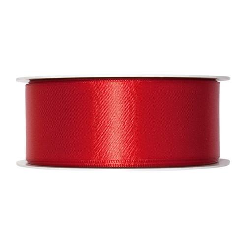 Satin Ribbon 40mm Blood Red x 25m