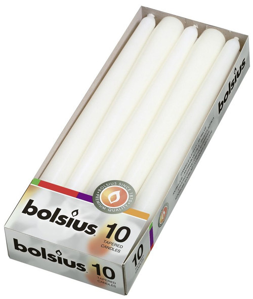 Taper Candles 10 Inch(x 10) White