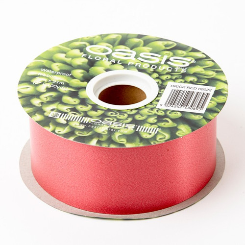 Florist Ribbon Bright Red